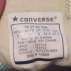 Donne Converse 9 Verde Acqua SbUEtWVLw1